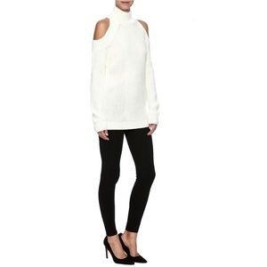 Nasty Gal Knit Cold Shoulder Sweater Top